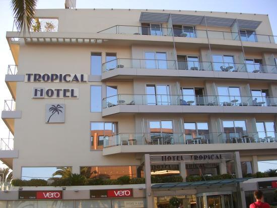Alimos, Grecia: Vue de l'hôtel