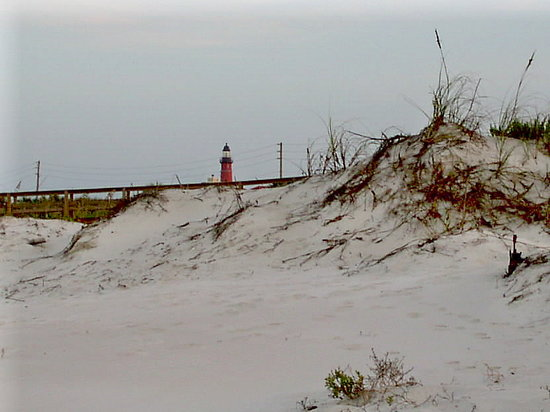 Daytona Beach, FL: lighthouse from jetty area