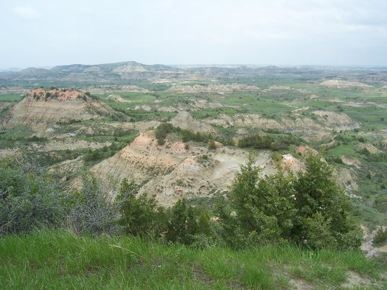 Parque Nacional Theodore Roosevelt, Dakota del Norte: Painted Canyon View