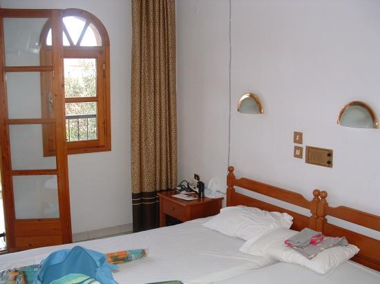 Hotel Calypso : Our room