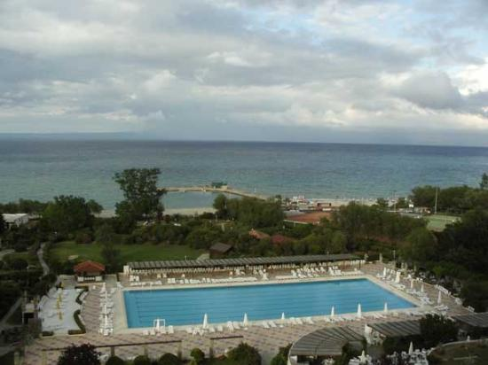 Athos Palace Hotel Chalkidiki: seaview form are balcony