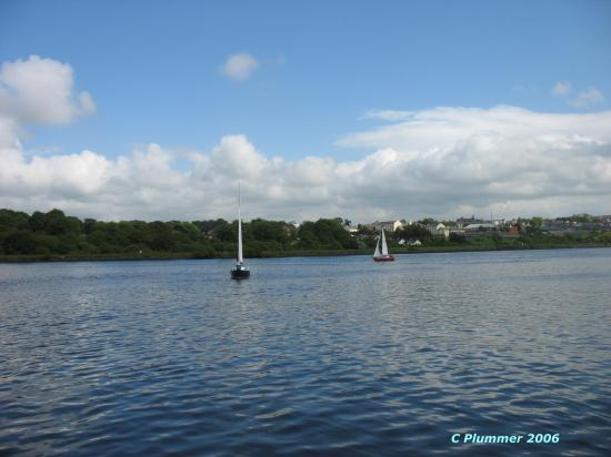 Derry, UK: Boats on Foyle, Festival Jun 06