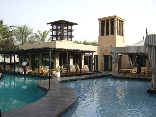 Arabian Court at One&Only Royal Mirage Dubai: The Pool is split for adults, swimmers and kids