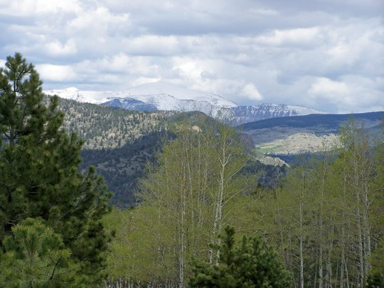 Cripple Creek, CO: The View Of The Peak
