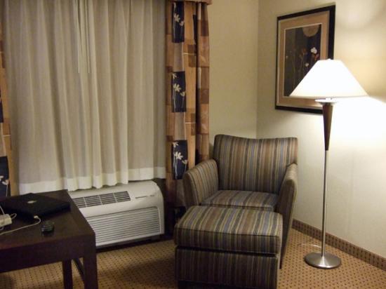 Hilton Garden Inn Jacksonville Orange Park : chair and ottoman