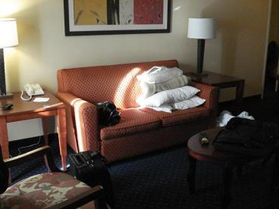 Courtyard by Marriott Raleigh Midtown: Living Room
