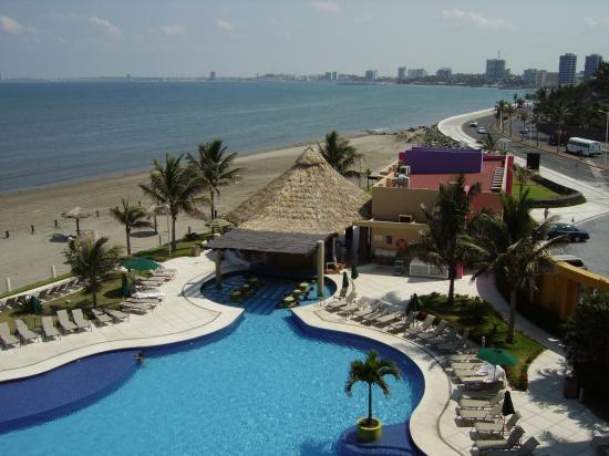 Boca del Rio, México: View from our 3rd floor room