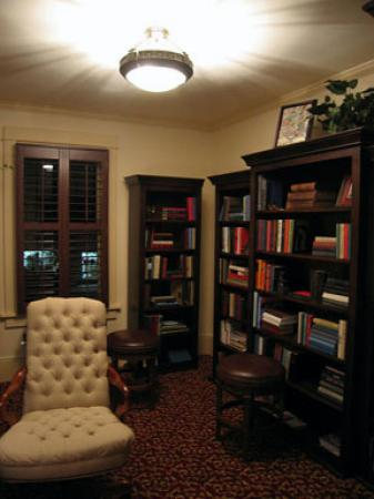 Chamberlin Inn: A comfy chair to surf the net in or to choose a book to read.
