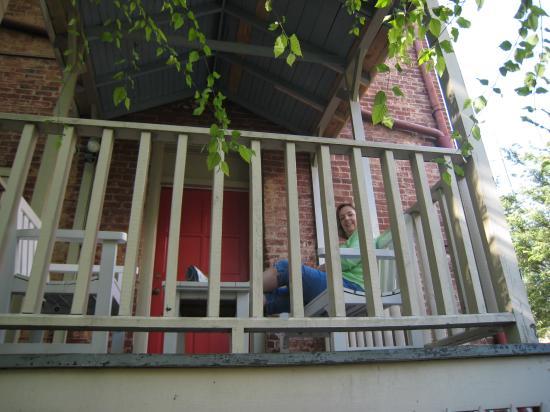 The Dinsmore House Bed & Breakfast: Our veranda