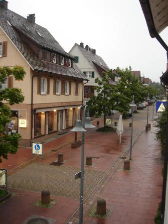 Hotel & Restaurant Schwanen: Photo taken from hotel window