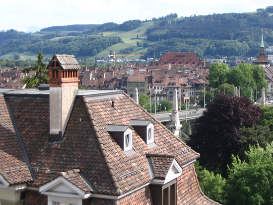 Hotel Allegro Bern: View from our room