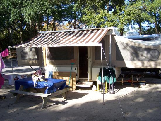 Ocean Lakes Family Campground : Our site