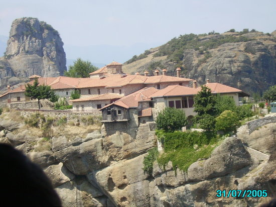 Kastraki, Griechenland: The Monastery