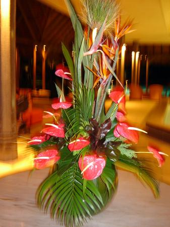 Shandrani Beachcomber Resort & Spa: table decorations