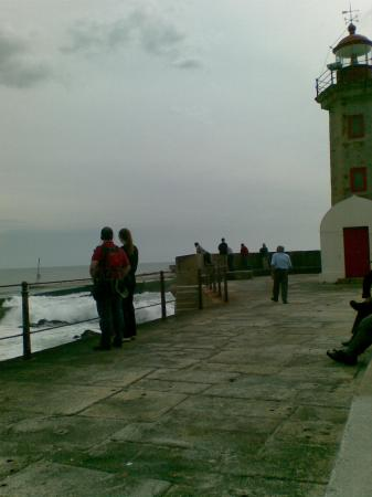 Hotel Boa Vista: the sea across the boulevard
