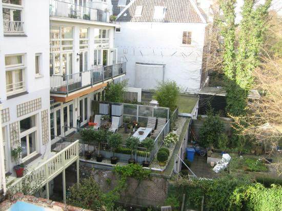 Garden View From Living Room Balcony Picture Of Heren
