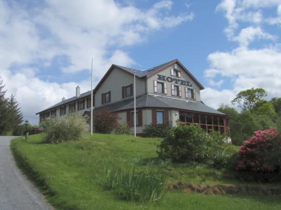 Gairloch Highland Lodge: A view of rhe Hotel