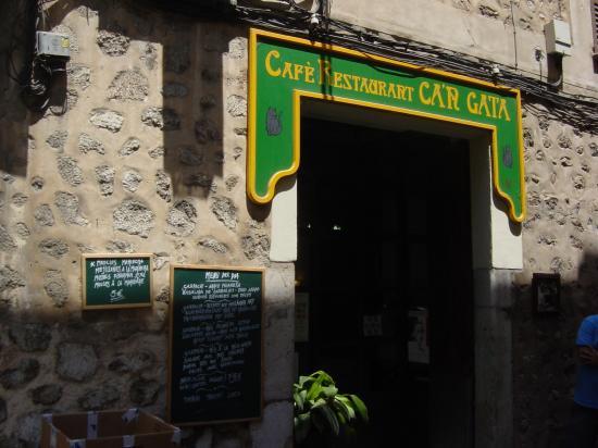 Cafe Restaurant Ca'n Gata in Soller