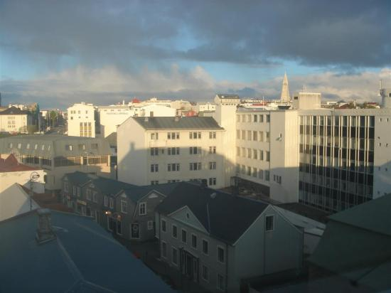 Radisson Blu 1919 Hotel, Reykjavik : The view from the room on 5th floor