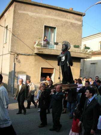 Club American Hotel Resort & SPA: Saint San Franciso Festival in Spezzano Albanese