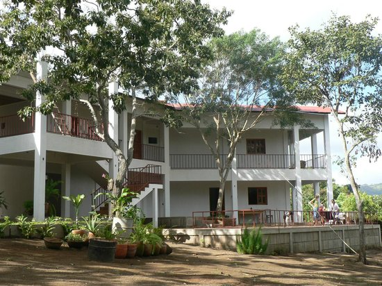 La Mariposa Spanish School and Eco Hotel : view of mariposa hotel from garden
