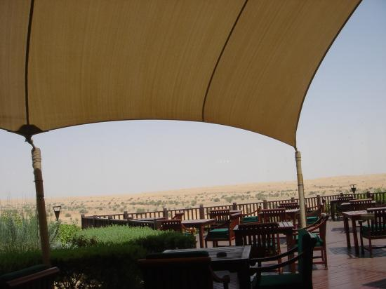 Al Maha, A Luxury Collection Desert Resort & Spa: Terrace