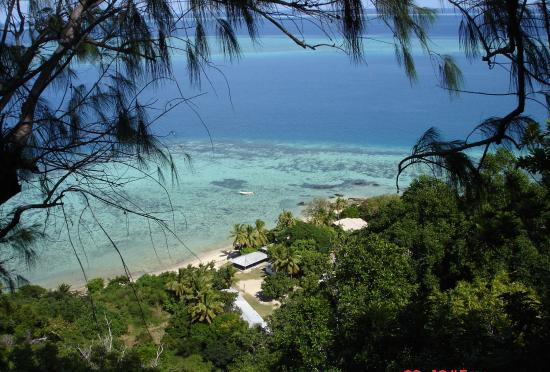 Castaway Island Fiji: A view from a lookout