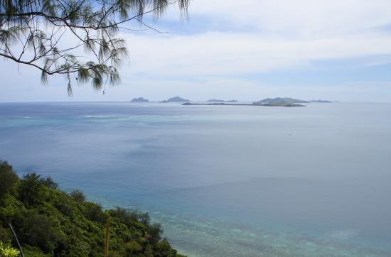 Castaway Island Fiji: View from a lookout