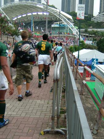 Hong Kong Stadium: Sorry, I think this is South Africa!