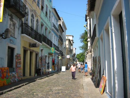 Hotel Casa do Amarelindo: La rue de la poussada