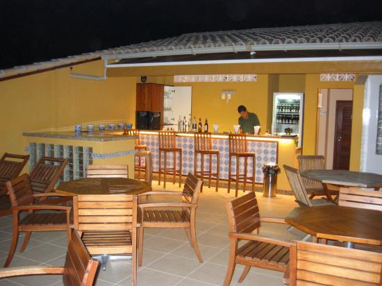 Hotel Casa do Amarelindo: La terrasse bar du 4ième étage