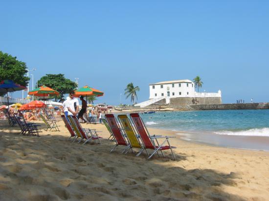 Hotel Casa do Amarelindo: La plage à Porto da Barra