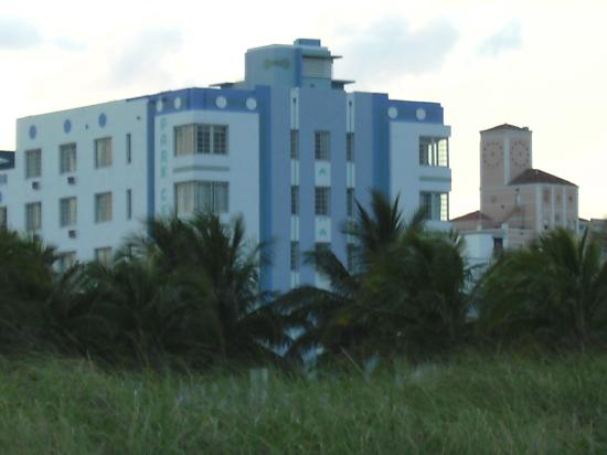 The Park Central: View Of Hotel From The Beach