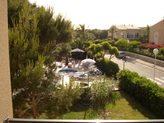 Zafiro Menorca: Side View from Balcony