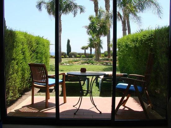 Pestana Alvor Praia: Our patio