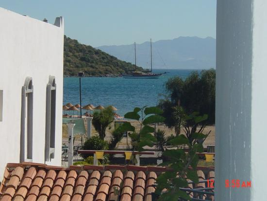 Kassandra Hotel: View from the hotel room