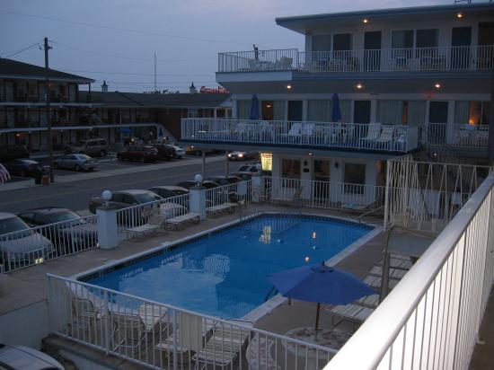 Apollo Resort Motel: view from the second floor