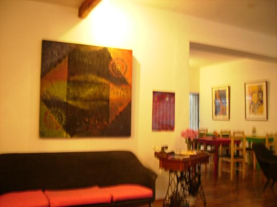 Casa Kanela: Reception and breakfast room