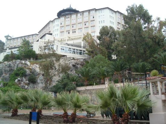 Alkoclar Adakule Hotel: Hotel vue d'en bas