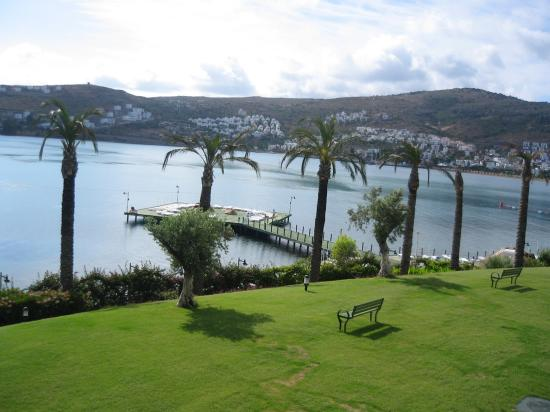 Hotel Baia Bodrum : View from our balcony