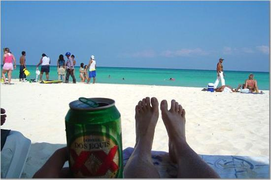 Mahekal Beach Resort: typical view!