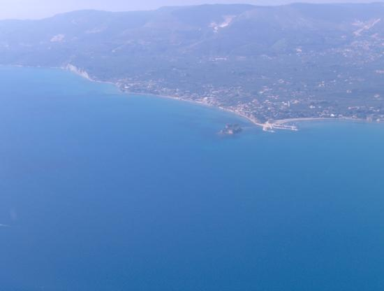 Kalamaki, Greece: onthe plane home
