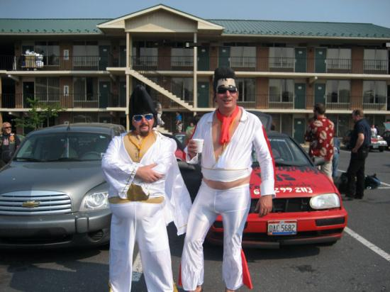 Harrisonburg Inn: Elvis stayed here