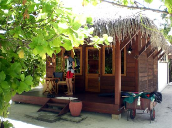 Filitheyo Island Resort: Deluxe villa No. 19