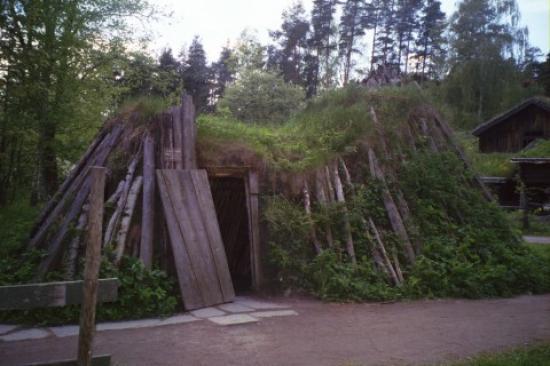 Musée folklorique norvégien : Saami Church at the Folk Museum