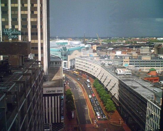 Radisson Blu Hotel, Birmingham: View from a corner room