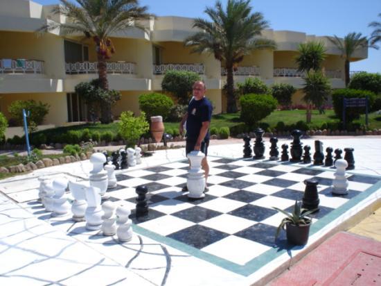 Sultan Beach Hotel: chess