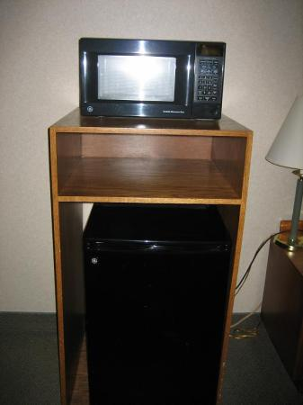 Days Hotel by Wyndham Egg Harbor Township-Atlantic City: Mini fridge and Microwave