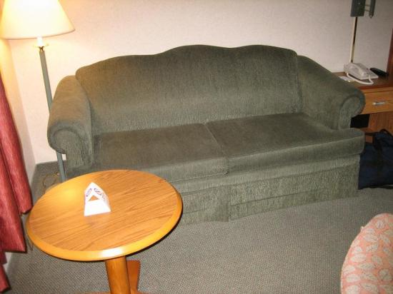 Sofa W Pull Out Bed Picture Of Days Hotel By Wyndham Egg Harbor