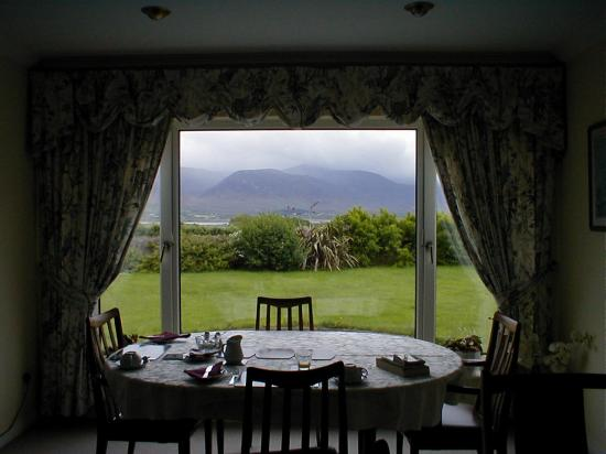 The Fairways: view from the dining room